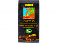 RAPUNZEL Espresso Chocolat noir éclats de café 80g