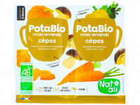 NAT-ALI Potabio Potage instantané aux cèpes 2x8.5g
