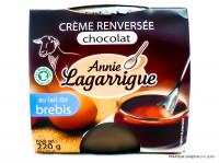 ANNIE LAGARRIGUE Crème renversée de brebis au chocolat 2x110g