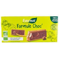 Biscuits au Chocolat au Lait Formule Choc' 125g