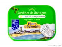 PHARE D'ECKMÜHL Sardines de Bretagne à l'huile d'olive 135g
