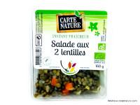 CARTE NATURE Salade aux 2 lentilles 160g