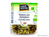CARTE NATURE Quinoa châtaignes & fruits secs 160g