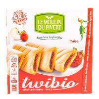 Biscuits Fourrés à la Fraise Twibio - 150g