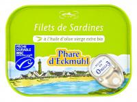 PHARE D'ECKMÜHL Filets de sardines à l'huile d'olive 100g