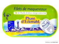 PHARE D'ECKMÜHL Filets de maquereaux à l'huile d'olive 118g