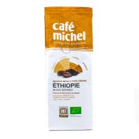 Café Michel - Café Moka Sidamo d'Éthiopie moulu 250g - Bio