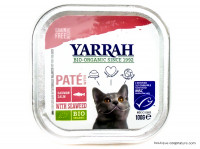 YARRAH Chats pâté au saumon 100g