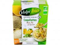 VALPIBIO Coquillettes maïs riz quinoa sans gluten 500g