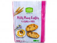 MOULIN DU PIVERT Petits pains grillés raisins miel 225g