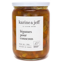 Légumes pour Couscous Bio 520g