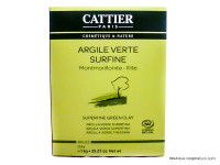 CATTIER Argile verte surfine 1kg