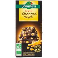 BONNETERRE Chocolat noir aux oranges confites 100g