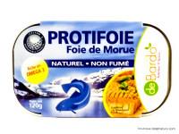 DEBARDO Foie de morue au narturel «Protifoie» 120g