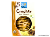 PURAL Cracker au carvi sans gluten 100g