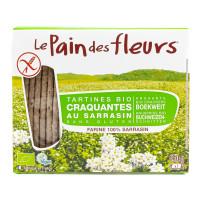 PAIN DES FLEURS Tartines craquantes au sarrasin 150g