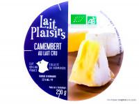 LAIT PLAISIRS Camembert au lait cru 250g