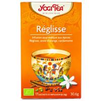 Yogi Tea - Infusion ayurvédique Réglisse - 17 sachets Bio