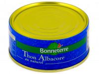 BONNETERRE Thon albacore au naturel 160g