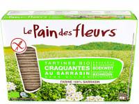 PAIN DES FLEURS Tartines craquantes au sarrasin 300g