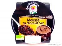 GRANDEUR NATURE Mousse au chocolat noir 100g