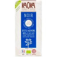 Tablette de Chocolat Noir 80% Équateur - 100g