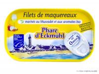 PHARE D'ECKMÜHL Filets de maquereaux muscadet aromatiques 118g