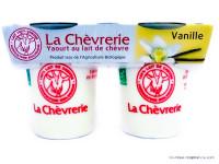LA CHÈVRERIE Yaourts de chèvre à la vanille 2x125g