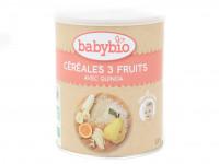 BABYBIO Céréales 3 fruits et quinoa 220g Bio