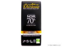 DARDENNE Chocolat noir 70% par 100g