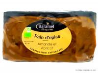 BARAMEL Pain d'épices amande & abricot 300g