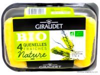 GIRAUDET Quenelles fraiches nature x4, 320g