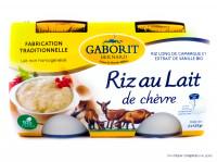 GABORIT Riz au lait de chèvre 2x125g