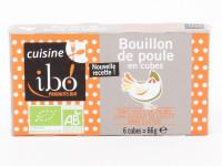 IBIO! Bouillon de poule en cubes 8x10g