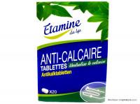 ÉTAMINE DU LYS Anti-calcaire 20 tablettes 300g