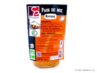 CYRIL PINABEL Pain de mie nature 350g