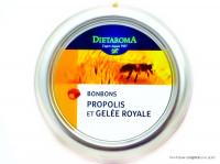DIETAROMA Bonbons propolis & gelée royale 50g