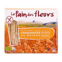 PAIN DES FLEURS Tartines craquantes au quinoa 150g