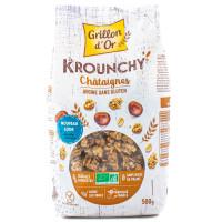 Grillon d'Or - Céréales Déjeuner Krounchy châtaigne 500g - Bio