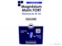 NUTRIGÉE Magnésium fort B6 B9 Fer 60 comprimés
