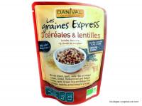 DANIVAL 3 Céréales et lentilles 250g