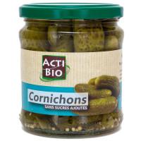 ACTI BIO Cornichons sans sucres ajoutés 330g