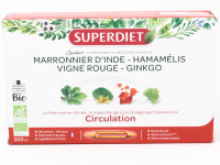 SUPERDIET Quatuor Circulation 20 ampoules Bio