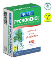 Pycnogenol Actif Naturel à Visée Circulatoire 40 gélules