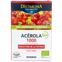 DIETAROMA Acérola 1000 à croquer 24 comprimés Bio