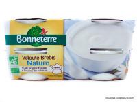 BONNETERRE Veloutés nature de brebis 4x115g