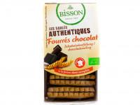 BISSON Sablés authentiques fourrés chocolat 195g