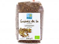 PURAL Graines de lin concassés 250g
