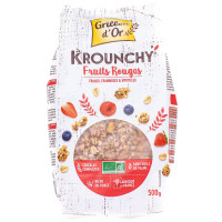 GRILLON D'OR Krounchy fruits rouges 500g