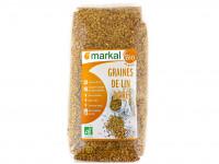MARKAL Graines de lin doré 500g